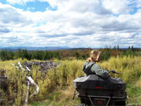 ATV, Maine ATV, ATV Rentals, Maine ATV Rentals, Cabin Rentals, Maine Vacations - North Country Rivers